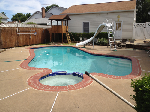 swimming pool repairs